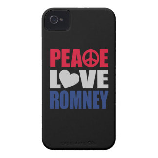 Peace Love Romney iPhone 4 Cover