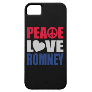 Peace Love Romney iPhone 5 Covers