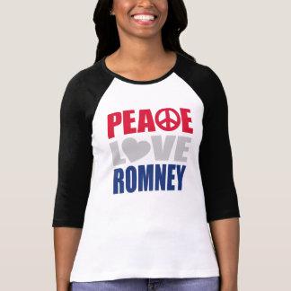 Peace Love Romney T Shirt