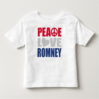 Peace Love Romney Toddler T-shirt