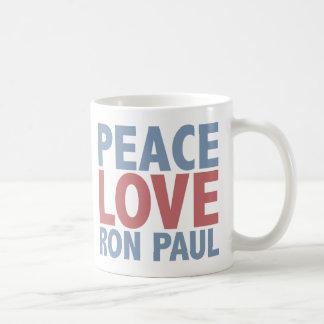 Peace Love Ron Paul Coffee Mug