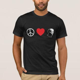 Peace Love Ron Paul Shirt