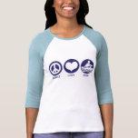 Peace Love Row Shirt