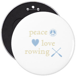 Peace Love Rowing Pins
