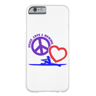 PEACE-LOVE-ROWING FUNDA BARELY THERE iPhone 6