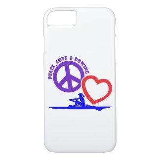 PEACE-LOVE-ROWING FUNDA iPhone 7