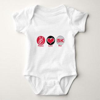 Peace Love Run 5K T-shirt