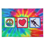 Peace, Love, Run Placemats
