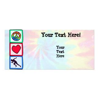 Peace Love Run Custom Rack Cards