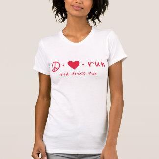 Peace Love Run T Shirts