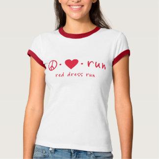 Peace Love Run Tshirts