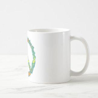Peace Love Running Coffee Mug