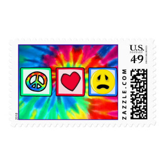 Peace, Love, Sadness Postage