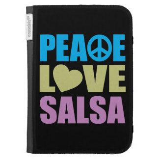 Peace Love Salsa Kindle Case
