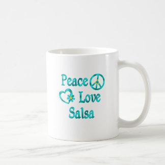 Peace Love Salsa Coffee Mug