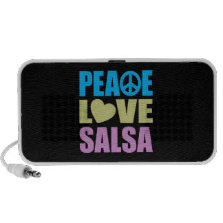 Peace Love Salsa Travelling Speaker