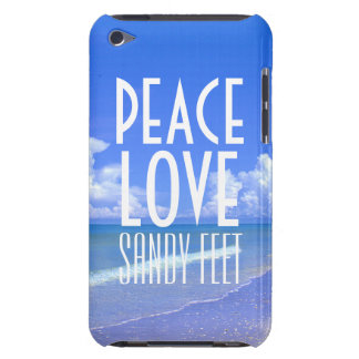 Peace, Love, Sandy Feet iPod Touch Covers