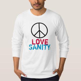 Peace Love SANITY Long Sleeve T-Shirt