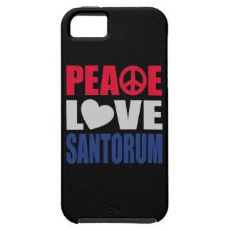 Peace Love Santorum iPhone SE/5/5s Case