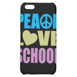Peace Love School iPhone 5C Covers