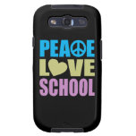 Peace Love School Samsung Galaxy SIII Case