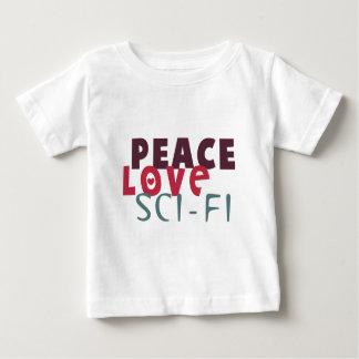 Peace Love Sci-Fi Baby T-Shirt