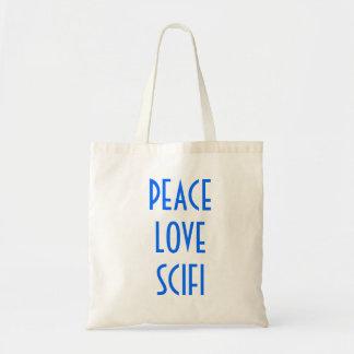 Peace Love Scifi Bags