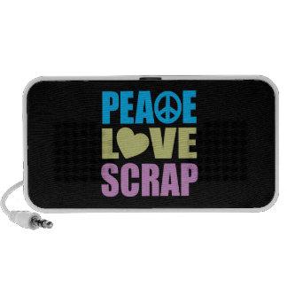 Peace Love Scrap Speaker