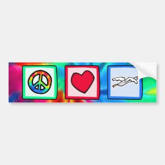 Peace, Love, Seagulls Bumper Stickers