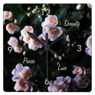 Peace, Love, serenity Great Wall Clock