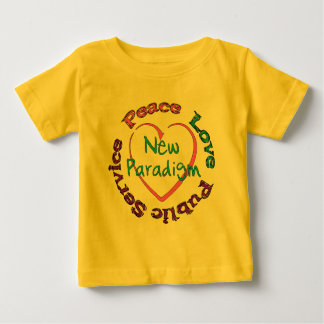 Peace Love Service T Shirt