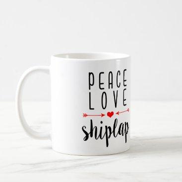 notablenovelties Peace Love Shiplap | Southern Girl Mug