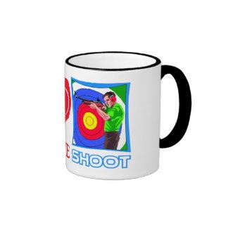 PEACE LOVE SHOOT (Gun Lovers) Coffee Mug