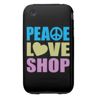 Peace Love Shop iPhone 3 Tough Case
