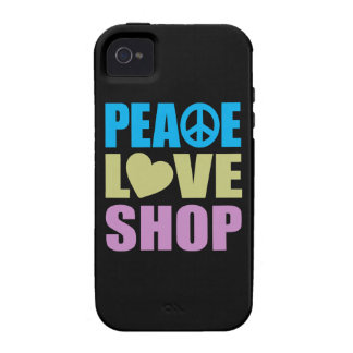 Peace Love Shop Case-Mate iPhone 4 Case