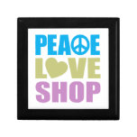 Peace Love Shop Gift Box