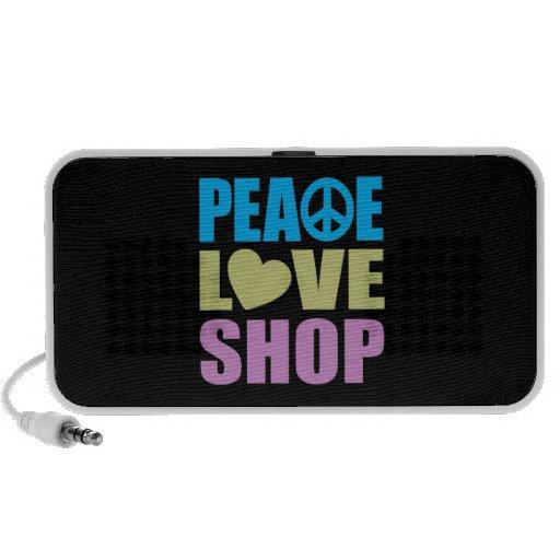 Peace Love Shop Speaker