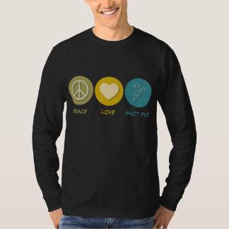 Peace Love Shot Put T-Shirt