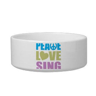 Peace Love Sing Bowl