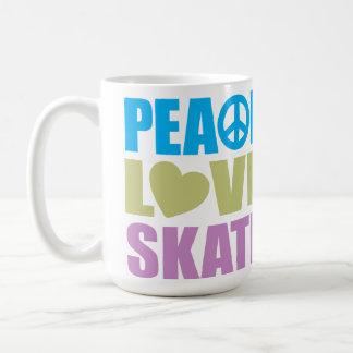 Peace Love Skate Coffee Mug