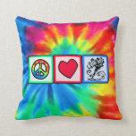 Peace, Love, Skateboard Pillows