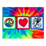 Peace, Love, Skateboard Postcard