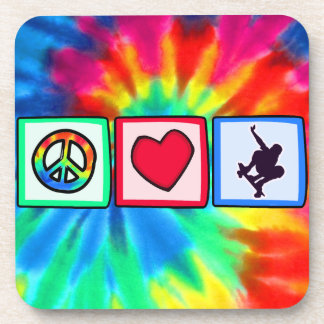 Peace, Love, Skateboarding Coaster