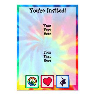Peace, Love, Skateboarding Custom Invite