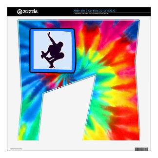 Peace, Love, Skateboarding Xbox 360 S Console Skin