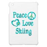 Peace Love Skiing iPad Mini Cover