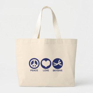 Peace Love Skydive Bag