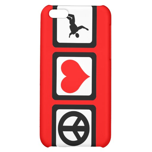 peace love skydiving cover for iPhone 5C