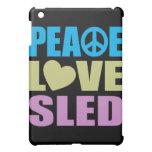 Peace Love Sled iPad Mini Covers