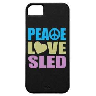 Peace Love Sled iPhone SE/5/5s Case